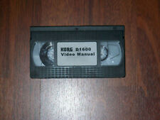 New ListingKorg D1600 Video Manual Vhs - Rare