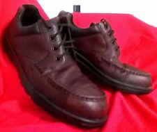 Blundstone WORK/CASUAL SHOE Steel cap lace-up Brown leather Ex Condition SIZE13