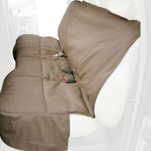 For Ford Escape 20 Canine Covers Polycotton Rear Row Taupe Seat Protector
