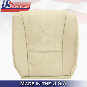 Passenger Bottom Perforated Leather Cover TAN For 2007 2008 2009 Lexus LS460