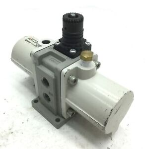 SMC VBA10A-T02GN-Z Booster Regulator, Input: 0-145PSI, 2x to 4x Boost
