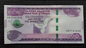 ETHIOPIA 200 Birr 2020 P New UNC Banknote