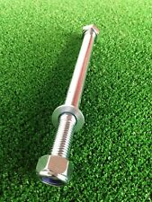 M16 x 180mm Long Bolt C/w Nyloc Nut & Washer 8.8 HIGH TENSILE Any Quantity Avail