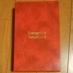 Neon Genesis Evangelion Deck Of Tarot Cards with Original Case Movie ver Japan