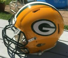 GREEN BAY PACKERS 2015-2017 Riddell Game ISSUED/USED NFL Football Helmet SPEED