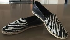 "As New ENZO ANGIOLINI ""Austyn Mixed Media"" Espadrille Flats Size 8.5"