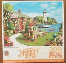 MASTERPIECES MEMORY LANE 300 LARGE PIECE JIGSAW PUZZLE w/ POSTER
