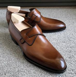 2021 Men's Formal Shoes Casual PU Leather Case Wear Low Heel Retro Fashion