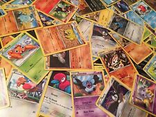 Pokemon Card Lot of 25 cards NEAR MINT TCG Commons Uncommons FREE SHIPPING