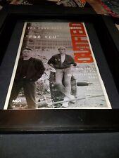 The Outfield For You Rare Original Radio Promo Poster Ad Framed!