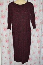 River Island Women's 3/4 Sleeve Knee Length Stretch, Bodycon Dresses
