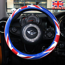 Universal 38cm for BMW Mini Car Steering Wheel Cover Union Jack hot sale UK Flag