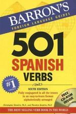 501 Verbs Ser.: 501 Spanish Verbs by Theodore Kendris and Christopher Kendris (…