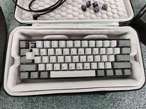 Keymove DK61 Shadow - Custom mechanical keyboard with case - MAJOR UPGRADES