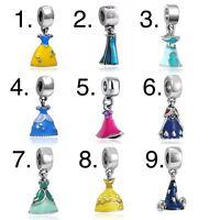 Charms charm compatibili Pandora Brosway - Vestiti Abiti principesse Disney