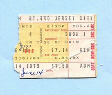 1975 Pink Floyd Concert Ticket Stub Wish You Were Here Tour Jersey City NJ
