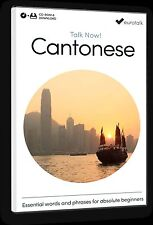 Eurotalk Talk Now Cantonese for Beginners - Download option & CD ROM