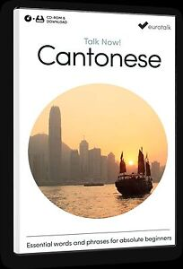 Eurotalk Talk Now Cantonese for Beginners - Download option & CD ROM
