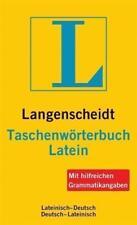 Langenscheidt Taschenwörterbuch Latein von Hermann Menge (2012, Kunststoffeinband)