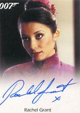 James Bond Archives 2015 Autograph Card Rachel Grant as Peaceful Desire