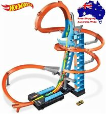 Hot Wheels Sky Crash Tower Track Set Kids Toy