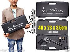 Revolverkoffer Dan Wesson 46x23x8 Waffenkoffer Kunsstoff abschliessbar Revolver