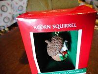 NEW Hallmark Keepsake Miniature Christmas Ornament 1989 Acorn Squirrel