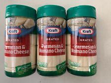 Kraft Grated Parmesan & Romano Cheese (3-pack)