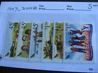 NEW ZEALAND Community Groups set Sc 1997-2002 MNH