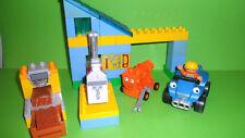 LEGO Duplo Bob der Baumeister 3299 Sprinti und Mixi in der Werkstadt,Komplett