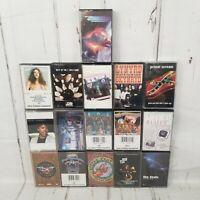 Lot Of 16 Classic rock Cassette tapes Lynyrd skynyrd Zz Top Dire Straits