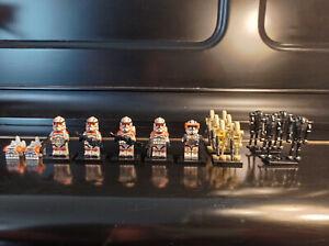 Lego Star Wars kompatible Minifiguren, 15er Set, Cody + 4x Clonetrooper 212th