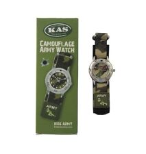 Kids Army Military Camo Camouflage Children's Wrist Watch Ideal Gift for Little