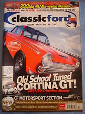 Classic Ford mag 2006 - Nov -Cortina GT - rally mk 1 escort