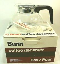"""BUNN 8 Cup """"Easy Pour"""" Old Stock Coffee Decanter New in Box"""
