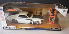 JADA LOPRO 1970 FORD MUSTANG BOSS 429 WHITE 1/24 DIECAST CAR AUTO