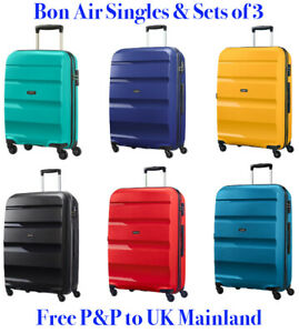 American Tourister Bon Air Suitcase - Small Medium Large Sets - 4 Wheel Spinners
