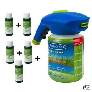 Liquid lawn Household Seeding System Liquid Spray Seed Lawn Care Grass Shot Too