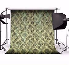 Retro Damask Pattern Wall Photography Backdrop 8x8ft Seamless Photo Background