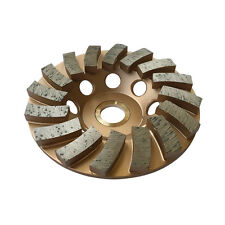 "4"" Concrete Grinding Cup Wheels 16 Diamond Abrasive Seg 7/8""-5/8"" Arbor"