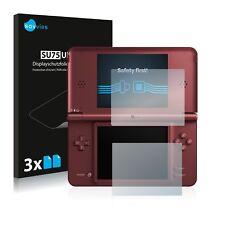 6x Nintendo Dsi XL Película Protectora de Pantalla Transparente Lámina