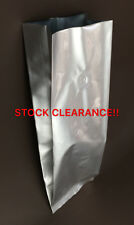 600pcs x Silver foil gusset coffee bags pouch 500g with gas valve