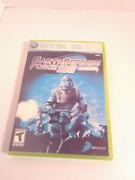 Earth Defense Force 2017 (Microsoft Xbox 360, 2007) Game & Case Tested Fast Ship