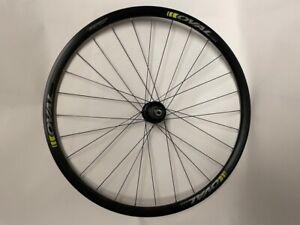 Oval 327CX 700c Disc Rear Wheel 8-11 spd Oval Hub/Rim,135x9mm QR, 28h bk/gn R33