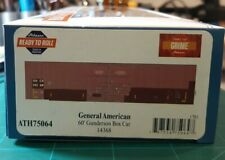 HO SCALE ATHEARN RTR 60' GUNDERSON BOX CAR ATH75064 NEW 14368 GENERAL AMERICAN