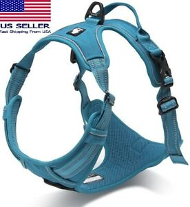 Truelove Adjustable Reflective Safety Dog Harness Comfy No-Pull - In Many Colors