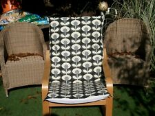 Handmade COVER for IKEA ALME poang chair @ ORLA KIELY @ OVAL FLOWER COOL GREY#22