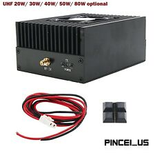 Digital Rf Power Amplifier Uhf 80w 50w 40w 30w Radio Dmr Amplifier Fm Power Amp