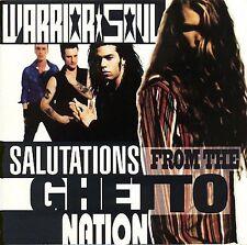 Salutations from the Ghetto Nation - Warrior Soul (CD) +3 Bonus Tracks BRAND NEW