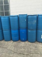 55 Gallon Plastic Drums 4 Rain-barrels DIY projects LOCAL PDX 97217 pick up only